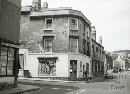 The White Lion, 1, Lambridge Buildings, Larkhall, Bath 1965