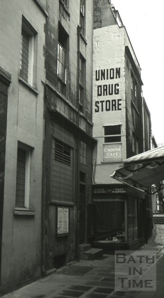 The Rising Sun, 12, Union Passage, Bath 1966