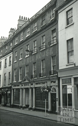 The Old Red House, 8 & 9, New Bond Street, Bath 1966
