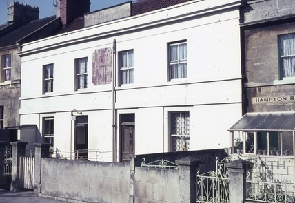 The Queen Victoria, 1 & 2, Hampton Row, Bathwick, Bath 1965