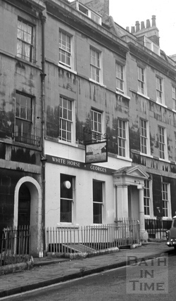 The White Horse/The Dark Horse, 4, Northampton Street, Bath 1966