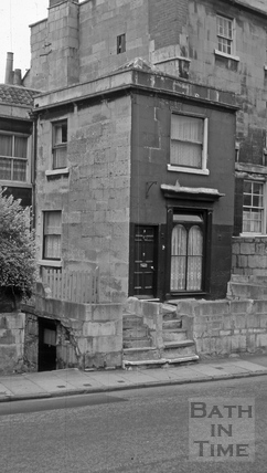 7, Queen's Place, Widcombe, Bath 1966