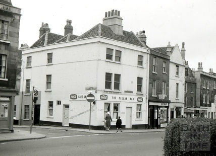 The Three Black Birds, 1, Little Stanhope Street, Bath 1965