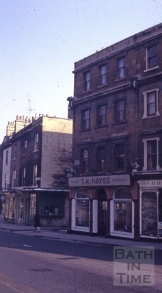The Three Crowns, 18, London Street, Bath 1965