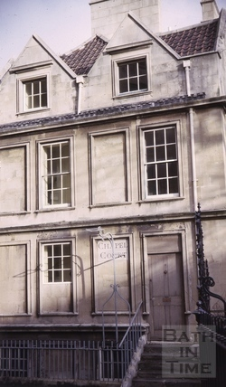6, Chapel Court, Bath 1964