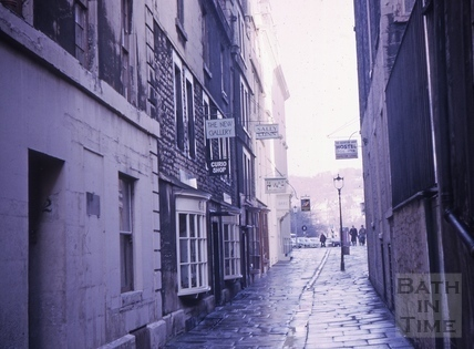 North Parade Passage (Lilliput Alley), Bath 1964