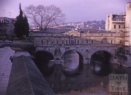 Pulteney Bridge, Bath 1964