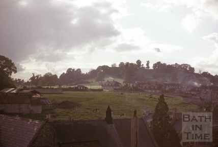 South west view from All Saints' Church, Weston, Bath 1962