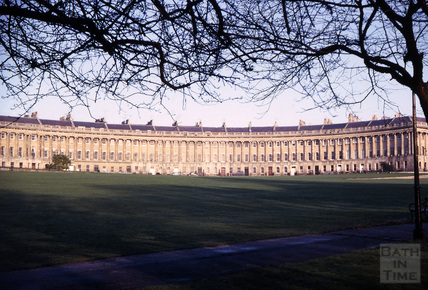 The Royal Crescent, Bath 1965