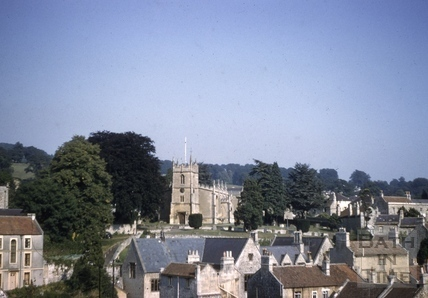 View of All Saints' Church, Weston, Bath 1959