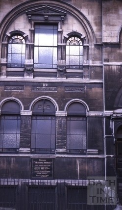 Westgate Methodist Church, 3 & 4, Westgate Buildings, Bath 1964