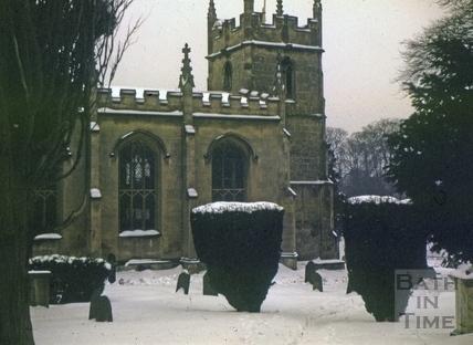 All Saints' Church, Weston, Bath from the north 1963