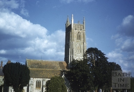 All Saints' Church, Publow 1958