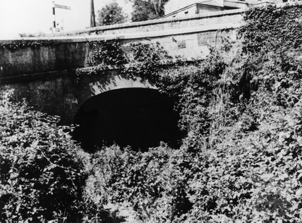 Bridge carrying the A36 Warminster Road over the Somersetshire Coal Canal, Monkton Combe c.1960