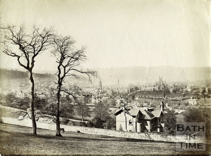 View of Bath from North Road c.1890