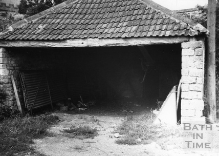 Entrance to the Somersetshire Coal Canal tunnel, Wellow c.1951
