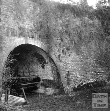 Dunkerton Aqueduct, Somersetshire Coal Canal c.1960