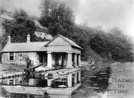 Midford Weighhouse, Somersetshire Coal Canal c.1895
