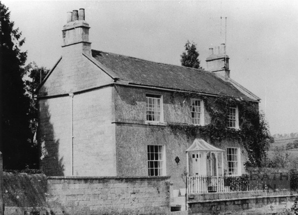 Former Somersetshire Coal Canal toll collections cottage, Midford c.1951