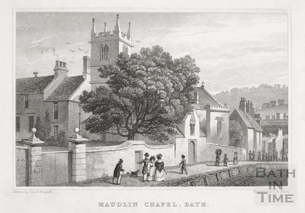 Maudlin (Magdalen) Chapel, Holloway, Bath 1829