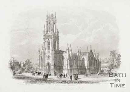 St. Stephen's Church, Lansdown, Bath 1844