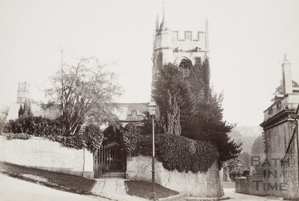 St. Thomas à Becket Church, Widcombe, Bath c.1890
