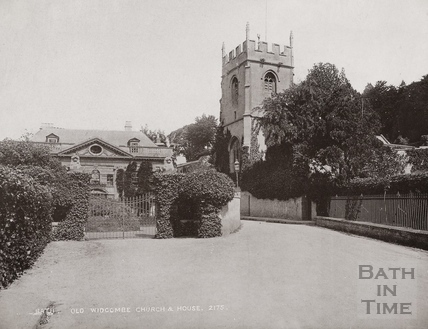 St. Thomas à Becket Church and Widcombe Manor, Bath c.1890