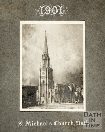 St. Michael's Church, Bath 1901