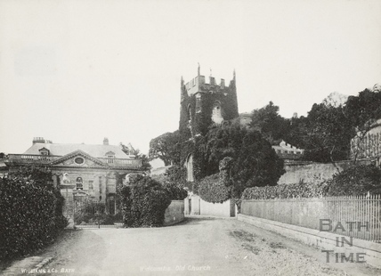Widcombe Old Church and Manor, Bath 1874