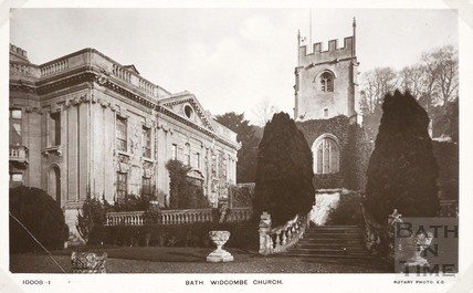 St. Thomas à Becket Church and Widcombe Manor, Bath c.1912