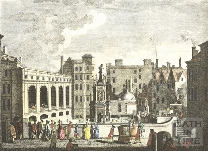 The King's and Queen's Baths and Great Pump Room, Bath 1764