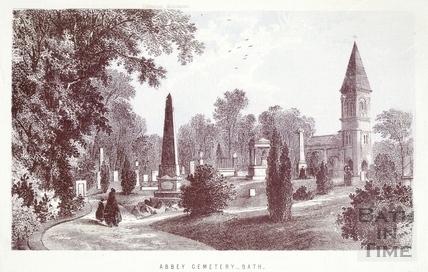 Abbey Cemetery, Lyncombe, Bath c.1860
