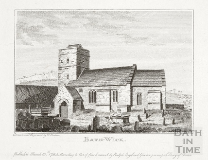 Bathwick Church, Bath 1784