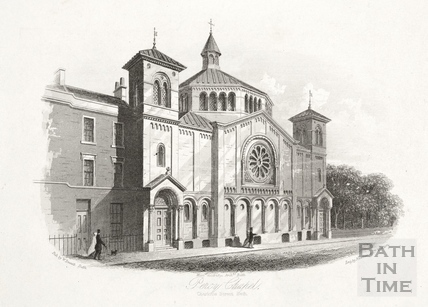 Percy Chapel, Charlotte Street, Bath c.1854