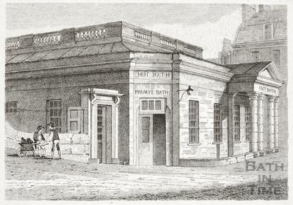 The Hot Bath, Bath 1818