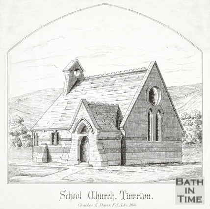 School Church, Twerton, Bath c.1866