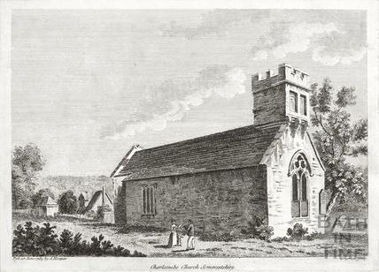 Charlcombe Church 1785