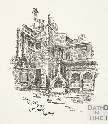 The King's Bath and Mineral Spring, Bath c.1920