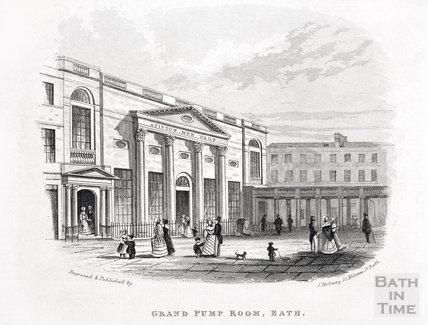 Grand Pump Room, Bath c.1845