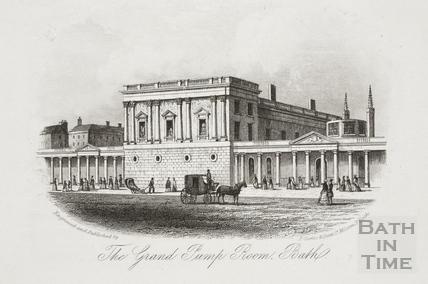 The Grand Pump Room, Bath c.1860