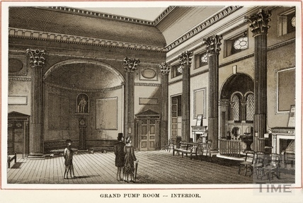Interior of the Grand Pump Room, Bath c.1890