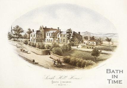 South Hill House, South Lyncombe, Bath c.1860