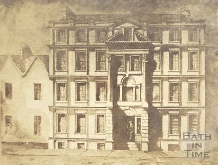 Dr. Bave's House, Lower Borough Walls, Bath