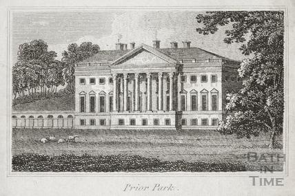 Prior Park, Bath c.1800