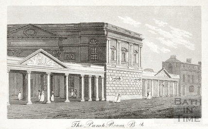 The Pump Room, Bath 1803
