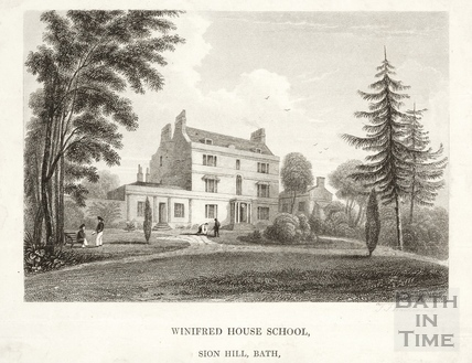 Winifred House School, Sion Hill c.1830