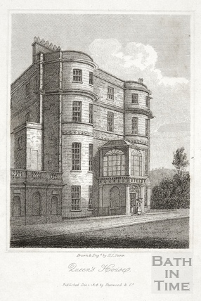 Queen's House, 93, Sydney Place, Bath 1818