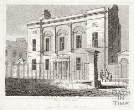 The Rector's House, Upper Borough Walls, Bath 1818