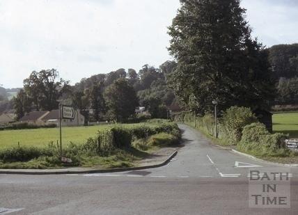 Brassmill Lane from Old Newbridge Hill, Bath 1968
