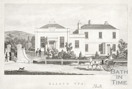 Bladud Spa, Larkhall, Bath c.1840